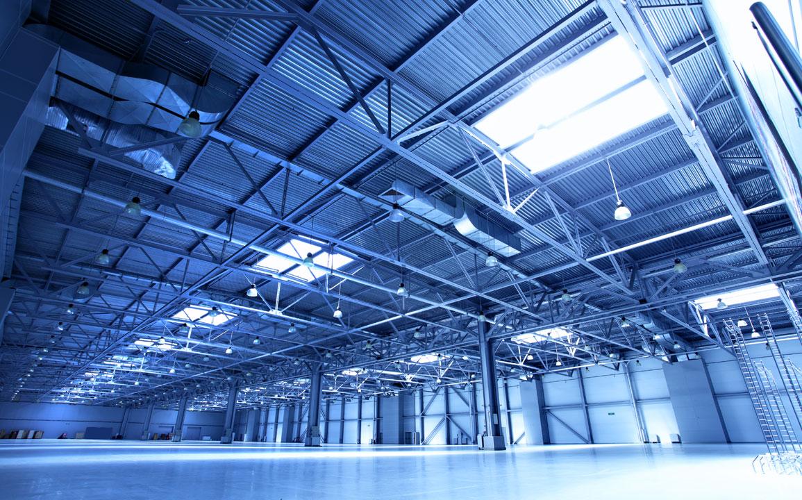 oświetlenie hal przemysłowych