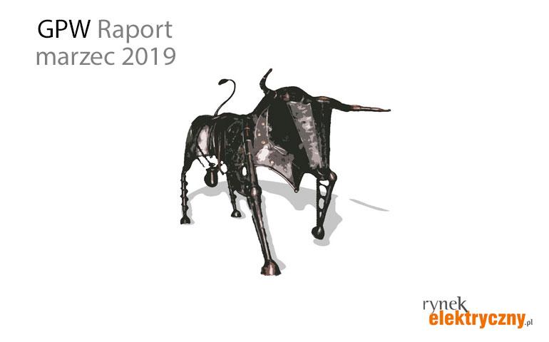 Raport GPW marzec 2019