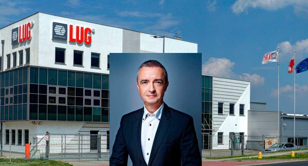 struktura handlu w firmie LUG