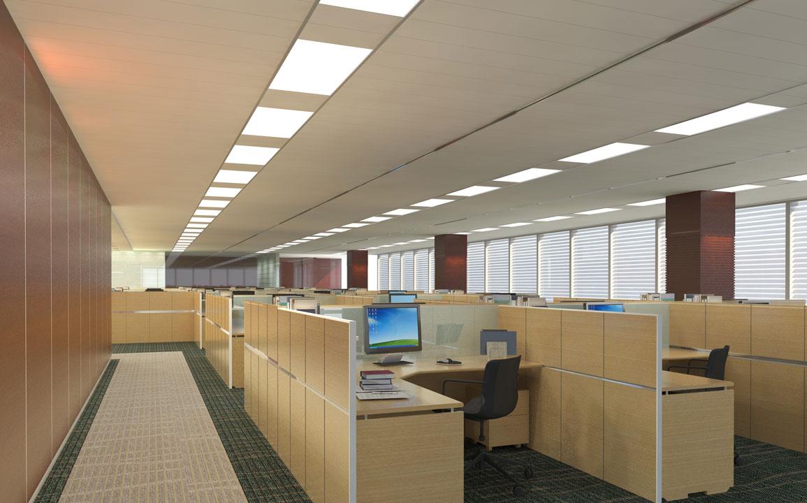 oświetlenie biurowe Beghelli