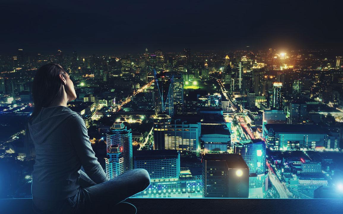 oświetlenie budynków