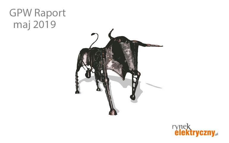 Raport GPW maj 2019