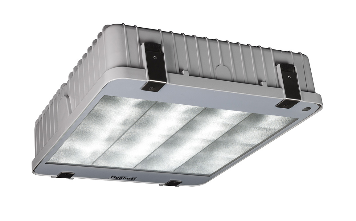 oprawa H400 LED TOP 3 fot. Beghelli