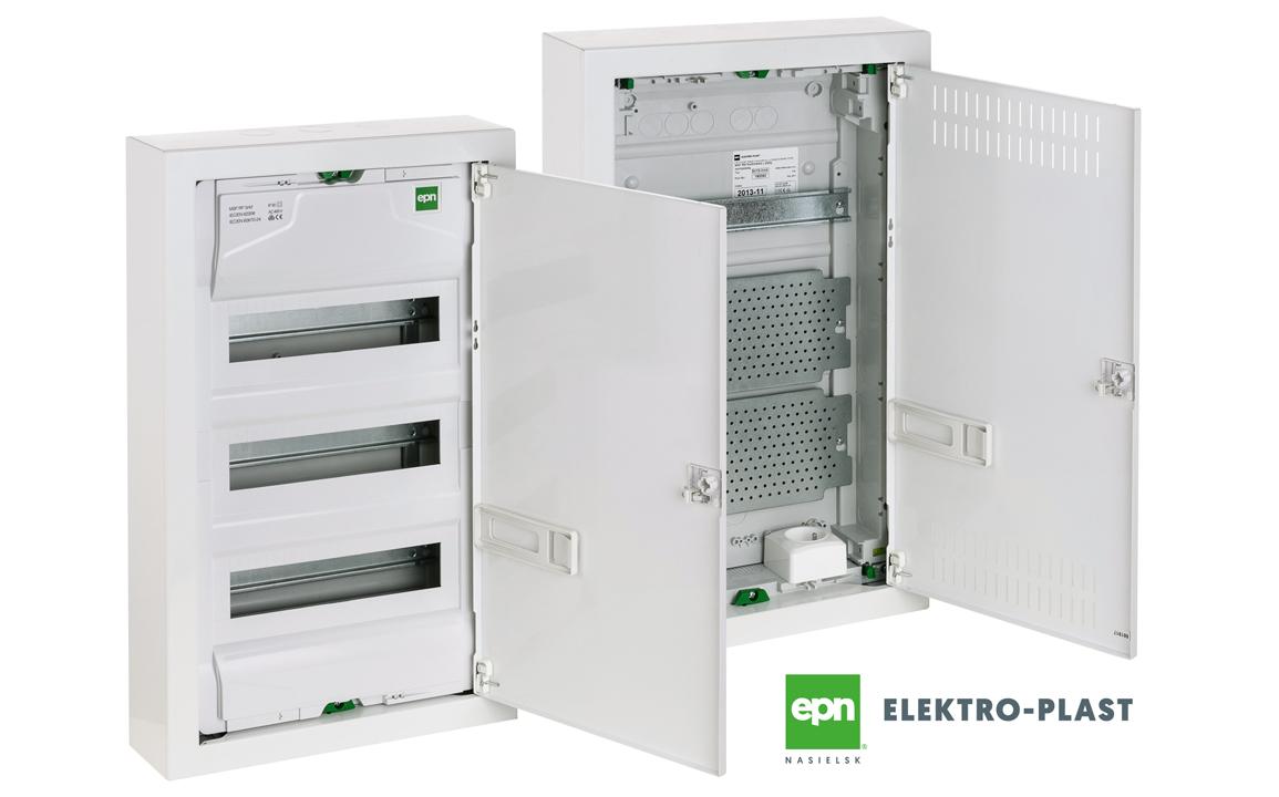 Rozdzielnie z drzwiami metalowymi natynkowe Elektro-Plast Nasielsk