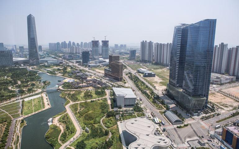 Koreańskie Songdo to pierwsze inteligentne miasto