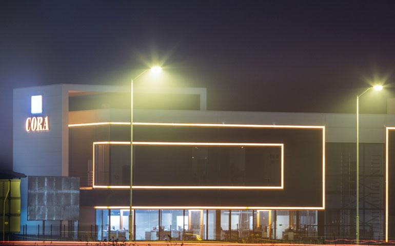CORA buduje nową fabrykę opraw LED