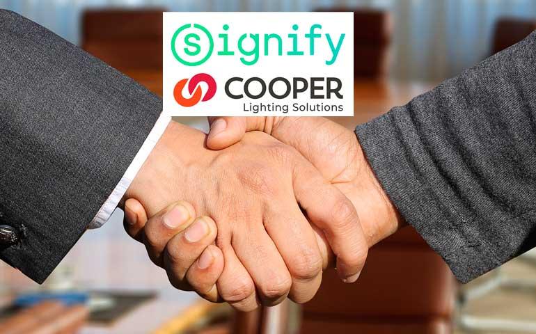 Signify przejmie firmę oświetleniową Cooper