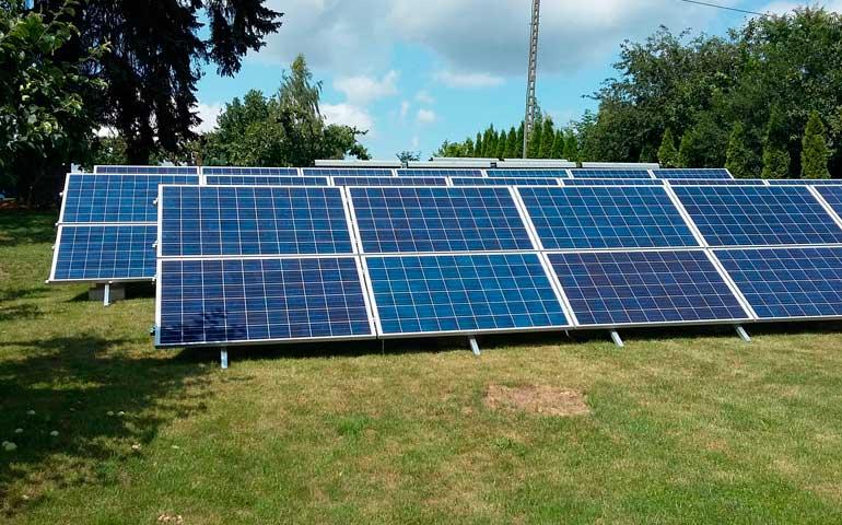 Spada udział OZE w elektroenergetyce