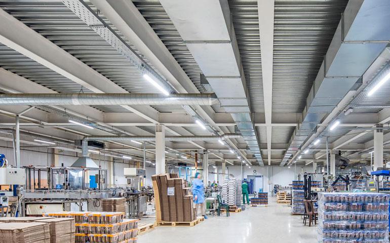 Human Centric Lighting w obiektach przemysłowych