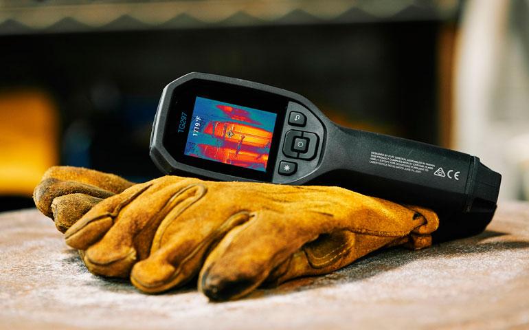 Wysokotemperaturowa przemysłowa kamera termowizyjna FLIR