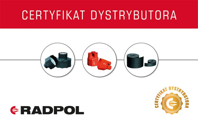 Radpol przyznał kolejne certyfikaty dla najlepszych dystrybutorów