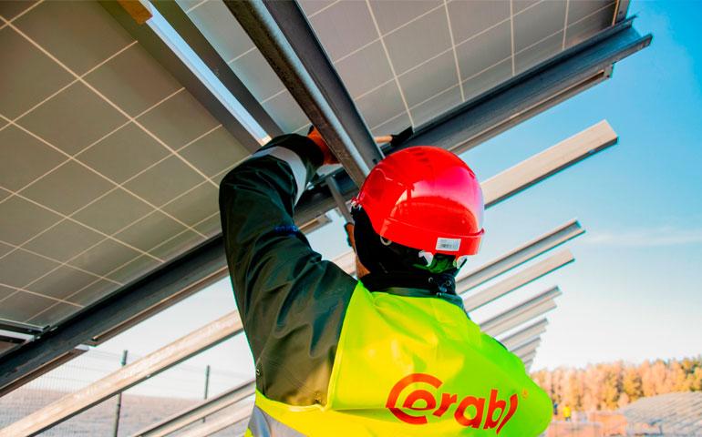 konstrukcje Corab dla farm fotowoltaicznych