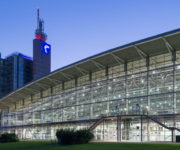 budynek targów Hannover Messe