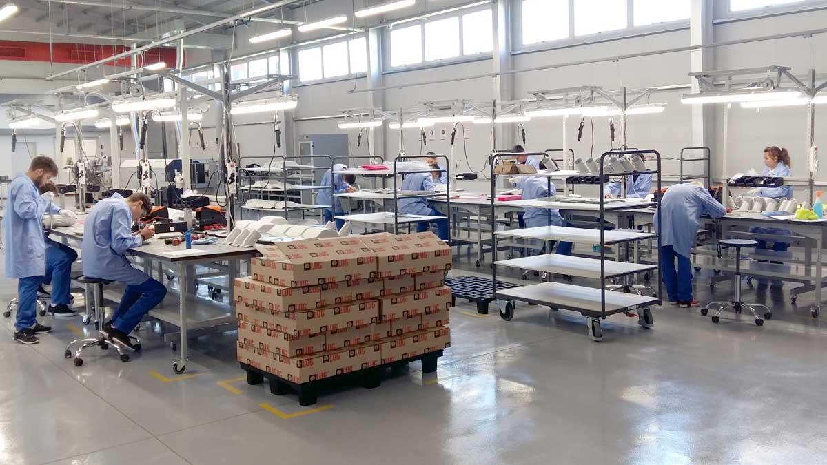 Fabryka LUG w Argentynie