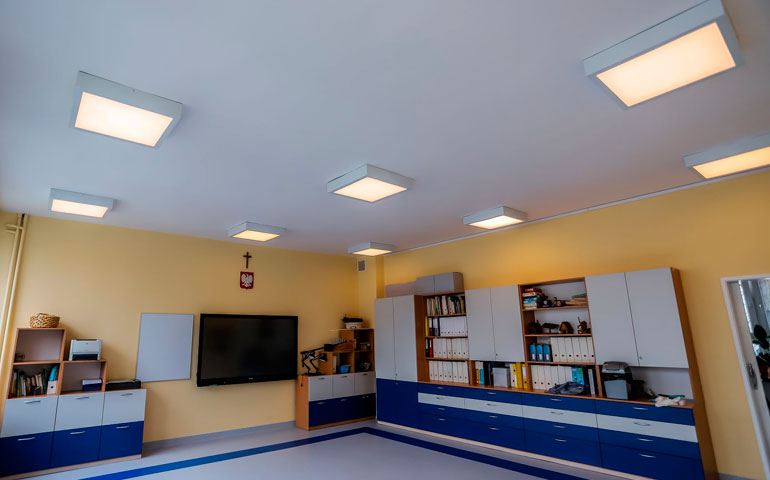 Pierwsza realizacja Beghelli Polska w technologii Human Centric Lighting