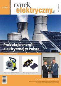 okładka Rynek Elektryczny marzec 2020