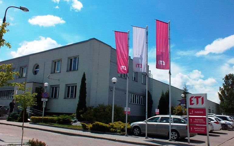 siedziba ETI Polam w Pułtusku
