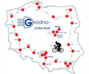 mapa Ultra Rajd Grodno 2020