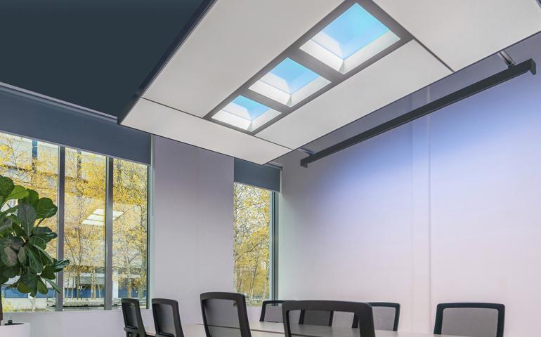 światło dzienne Signify w biurowcu Skanska