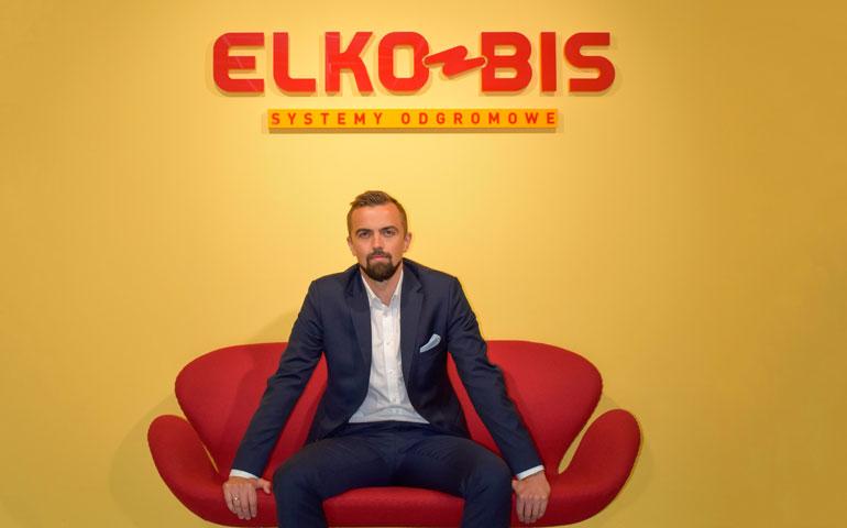 Radosław Kohut prezes Elko-Bis Systemy Odgromowe