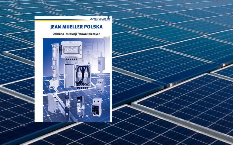 okładka katalogu ochrona instalacji PV Jean Mueller