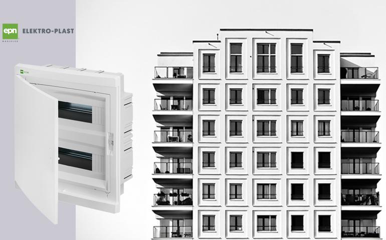 rozdzielnica mieszkaniowa Elegant firmy Elektro-Plast Nasielsk
