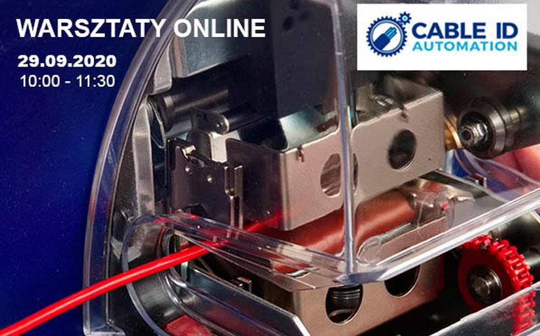 WARSZTATY ONLINE: Zautomatyzowana identyfikacja kabli i komponentów