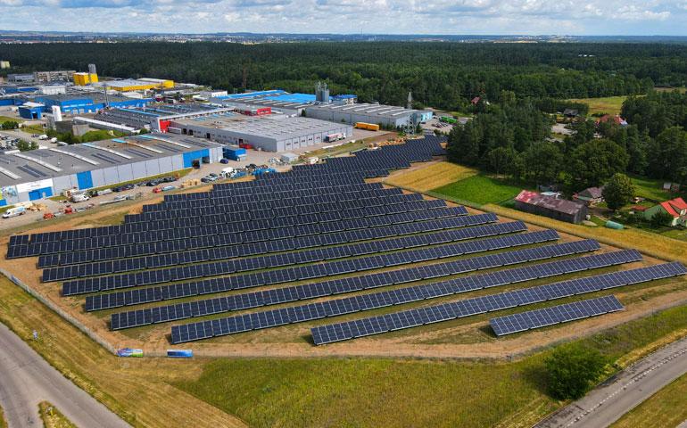 Największa farma fotowoltaiczna Grodna