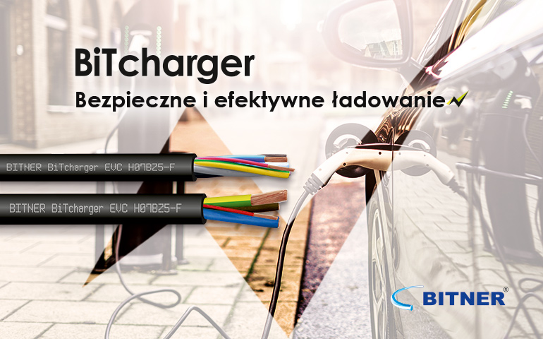 kable Bitner do ładowania samochodów elektrycznych