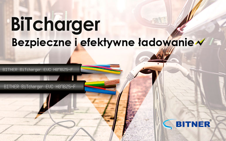 BiTcharger – kable firmy BITNER do ładowania samochodów elektrycznych