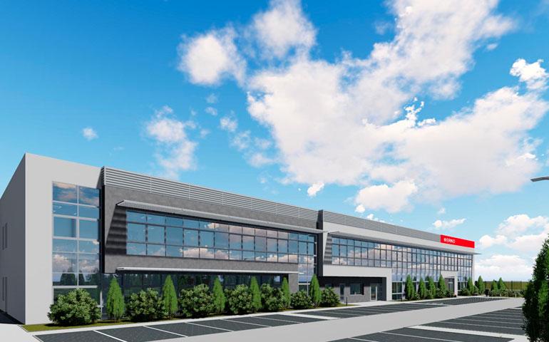 projekt nowej fabryki ERKO 4.0 w Jonkowie