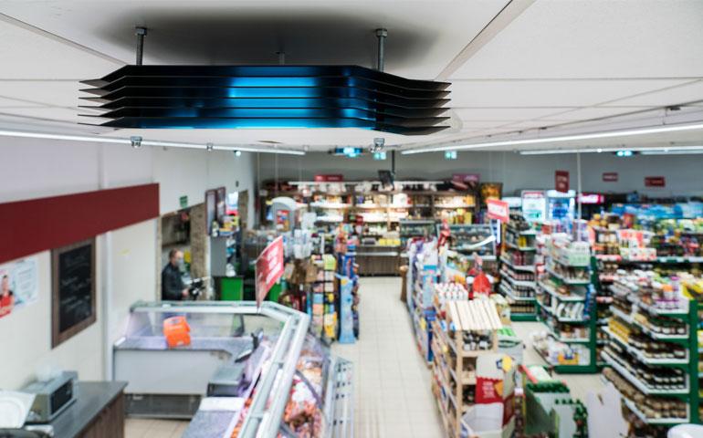 Pierwsza sieć handlowa w Polsce dezynfekowana przez Philips UV-C