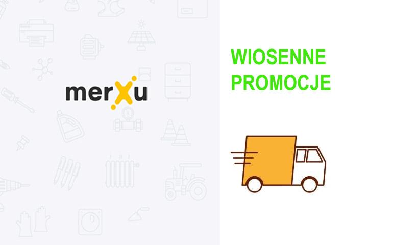 """Wiosenne promocje na platformie merXu – """"Darmowa dostawa"""" i """"Bonus retrospektywny"""""""
