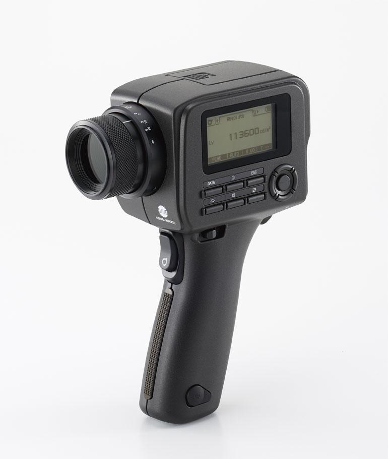 urządzenie Konica Minolta LS-150 do pomiaru luminancji