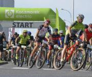 start maratonu rowerowego Kaczmarek Electric