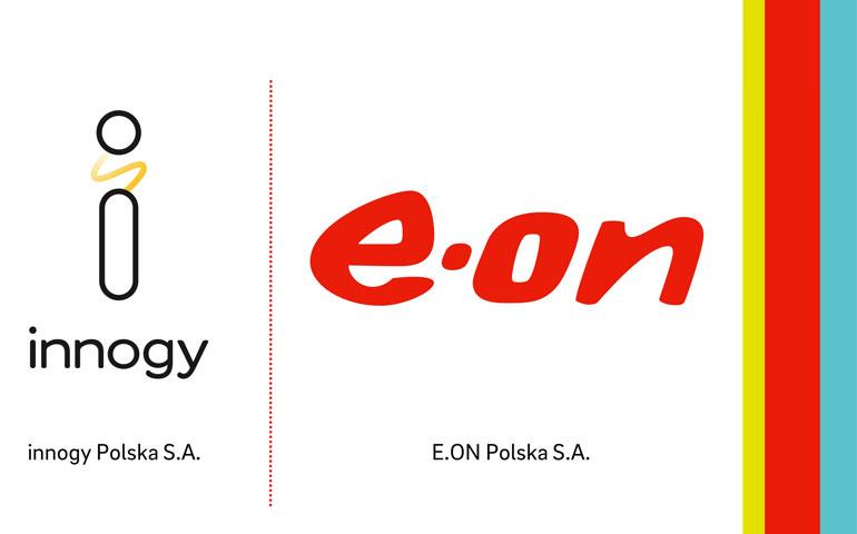 innogy zmienia logo na E.ON