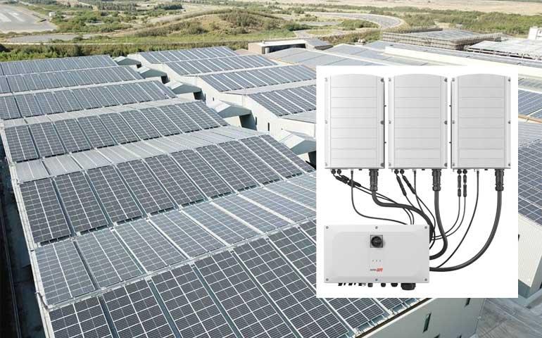 falownik SolarEdge trójfazowy z technologią Synergii